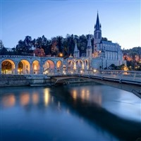 Lourdes by air from Manchester